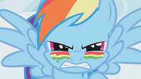 Rainbow Dash ready for battle S1E07