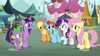 "Rarity ""may not have taken our critique"" S8E18"