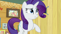 Rarity -that would be tres gauche!- S7E6