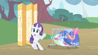 Rarity stressed look S1E20