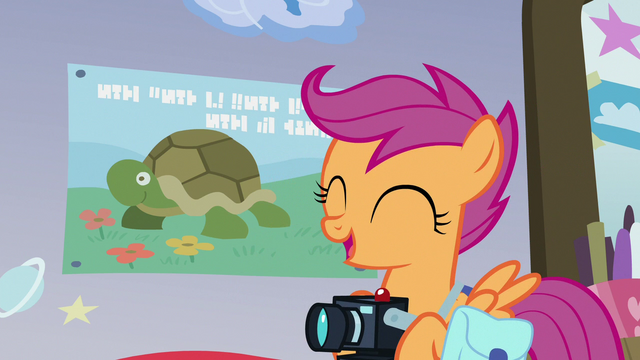 """File:Scootaloo """"that's so Rainbow Dash!"""" S7E7.png"""