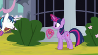 Shining Armor has his eye on Twilight S9E4