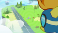 Spitfire looking down at Rainbow's parents S7E7.png