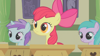 Apple Bloom in class S1E12