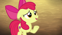 Apple Bloom nervous --extra--- S6E23