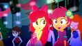 Apple Bloom whispering to Scootaloo SS3.png