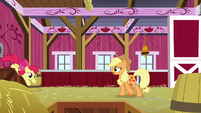 "Applejack ""I wanted to talk to you"" S9E10"