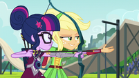 "Applejack ""aim at where the target's gonna be"" EG3"
