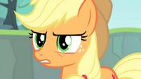 Applejack suspicious S4E20