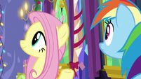 Fluttershy and RD hear winterzilla enter MLPBGE