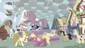 Fluttershy and angry ponies S03E13.png