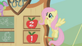 Fluttershy sees Spike come crashing down S01E13.png