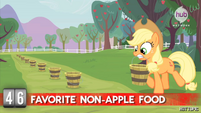 Hot Minute with Applejack carrying a pale