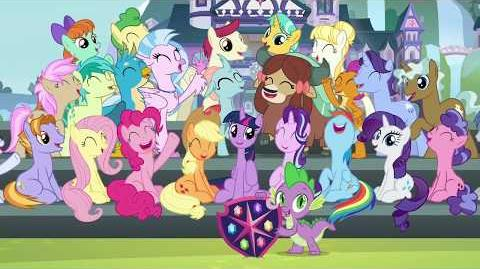 MLP FiM Music Friendship Always Wins HD