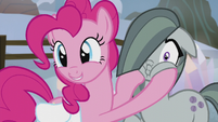 Pinkie -she's so excited to meet everypony!- S5E20