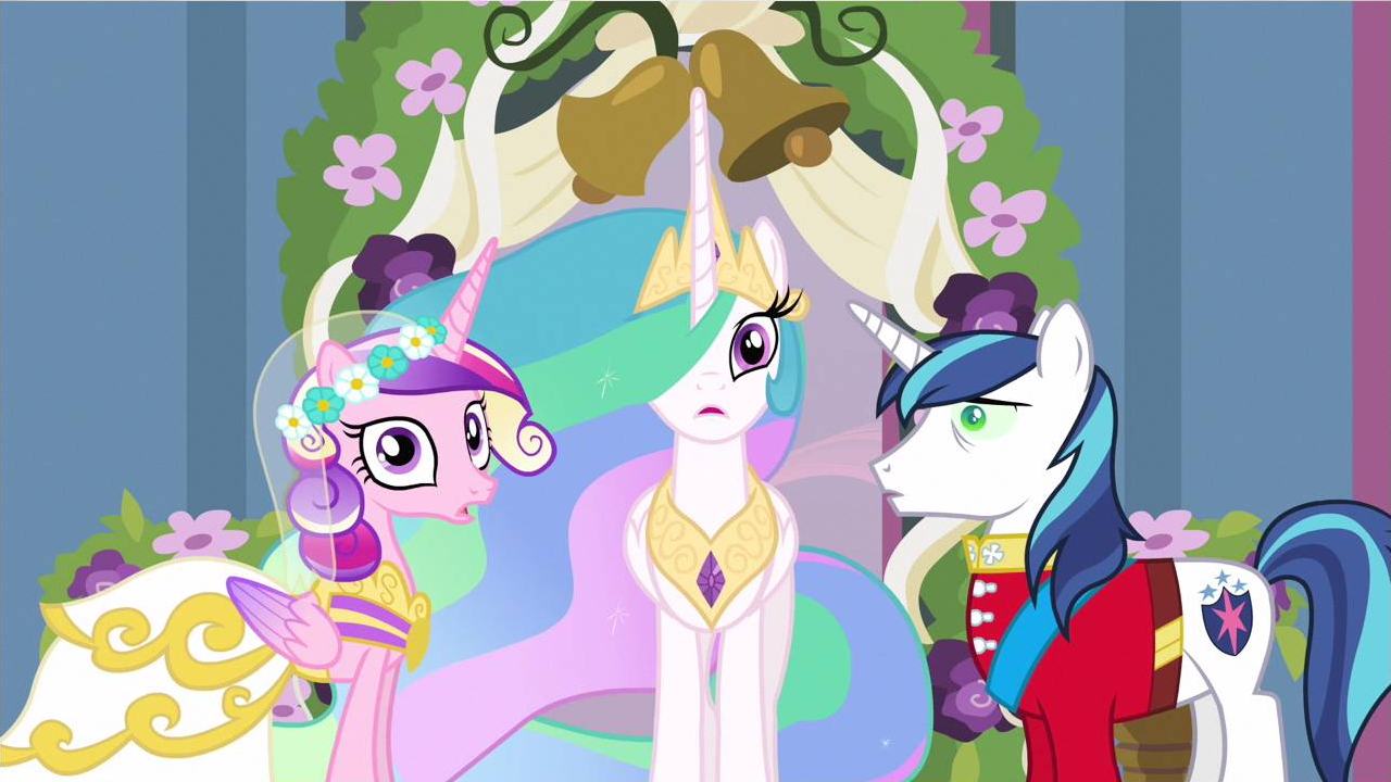 Princess Cadance Wedding Crashed S2e26 Png