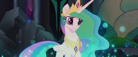 Princess Celestia overjoyed to see Twilight MLPTM