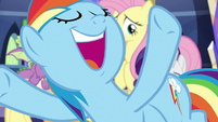 """Rainbow """"almost always done things"""" S9E1"""