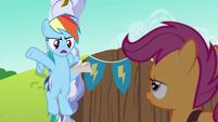 Rainbow Dash --I've only got 'til noon-- S6E14