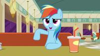 Rainbow Dash --I sound just like her!-- S6E9