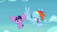 Rainbow Dash -Scootaloo ditched me- S8E20