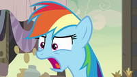 Rainbow Dash -sunk into the ground!- S7E18