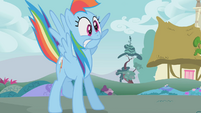 Rainbow Dash startled S01E07