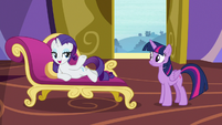 "Rarity ""between crystal gem crevasses"" S9E19"