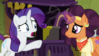Rarity --that's not what Zesty wants!-- S6E12