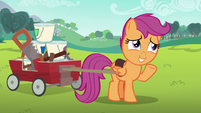 Scootaloo --I know all about speed already-- S6E14