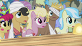 Sick ponies watch Silver Shill S4E20.png
