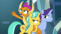 Smolder worried about Gallus S8E26
