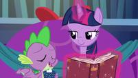 """Spike """"proceed"""" S06E08"""