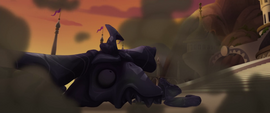 The Storm King in pieces of obsidian MLPTM
