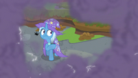 Trixie surrounded by electrified smoke S9E20