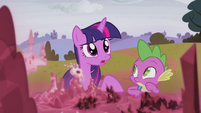 "Twilight ""too big to handle on our own"" S5E25"