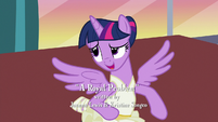 "Twilight Sparkle ""it's an easy spell"" S7E10"