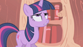 Twilight looking at her horn S1E6.png
