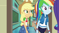 Applejack, Rainbow, and Rarity leaving the room EGFF.png