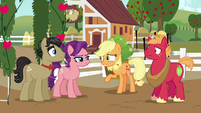 Applejack --you just can't see Granny right now-- S6E23