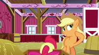 Applejack choosing her words carefully S9E10