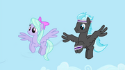 Flitter and Cloud Chaser making a breeze S4E16