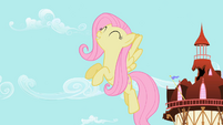 Fluttershy can't believe it S2E10