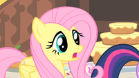 Fluttershy notices Philomena S1E22