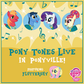 MLP Pony Tones Live in Ponyville Facebook photo.png
