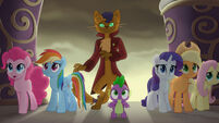 MLP The Movie Multikino - Main five, Spike, and Capper