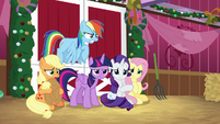 Main ponies annoyed and upset BGES2