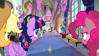 Main ponies return to the school S8E15