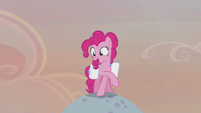 "Pinkie Pie ""everypony get settled in!"" S5E20"