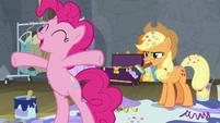 Pinkie Pie shouting with joy S8E7